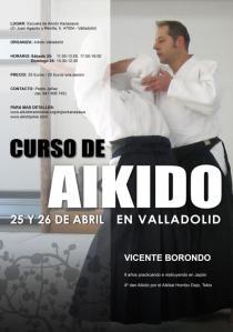 Curso de Vicente Borondo en Valladolid